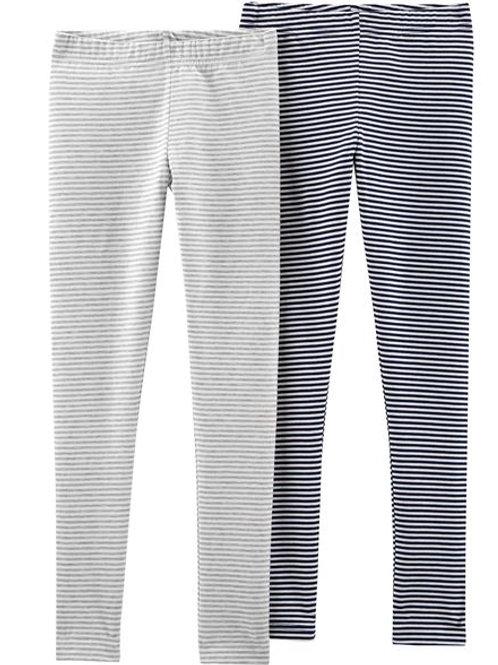 Carter's, 2-Pack Striped Leggings