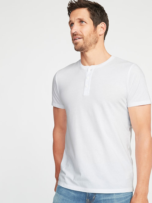 Old Navy, Soft-Washed Jersey Henley for Men