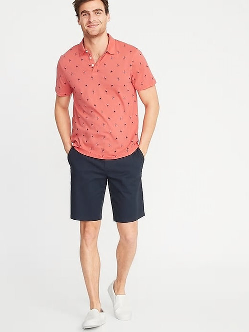 Old Navy - Soft-Washed Printed Jersey Polo