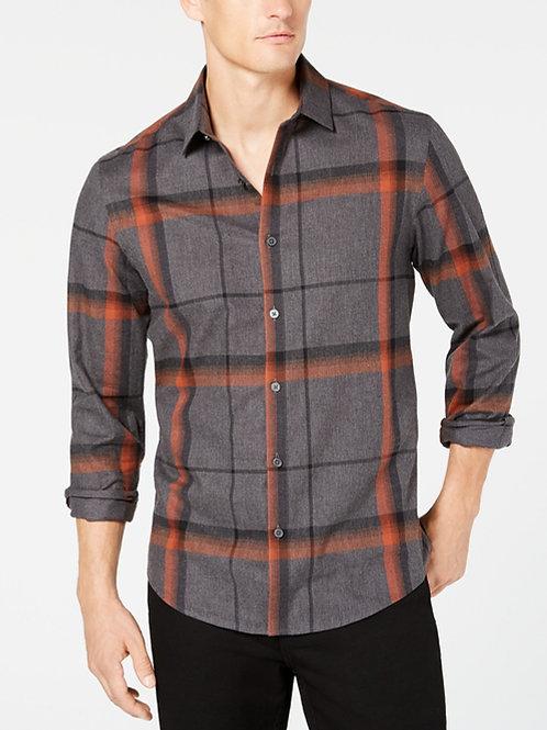 Alfani's, Men's Brushed Plaid Shirt
