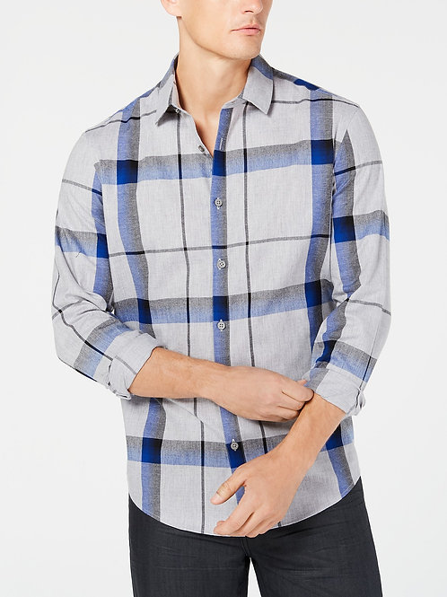 Alfani's, Men's Brushed Plaid Shirt