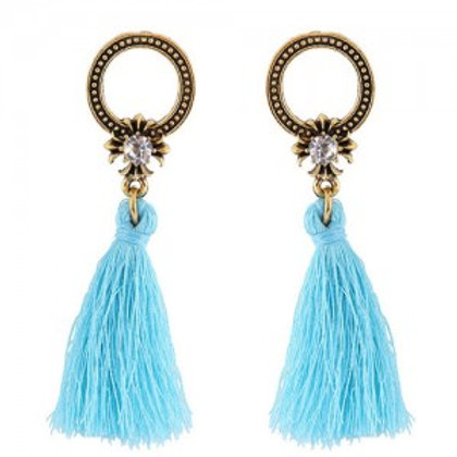 vintage-studs-hoop-design-with-threads-tassel-fashion-earrings-sky-blue
