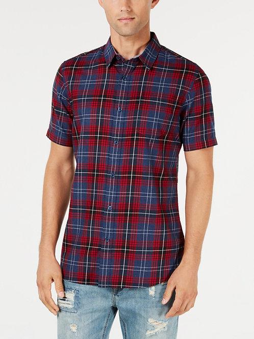 American Rag , Men's Plaid Shirt, Created for Macy's