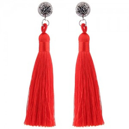 cotton-threads-shining-studs-high-fashion-statement-earrings-red