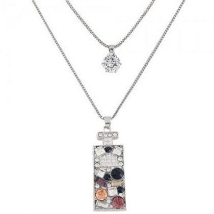 rhinestone-inlaid-perfume-bottle-pendant-two-layers-fashion-necklace