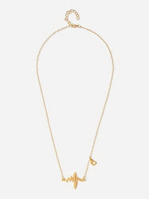 Slogan Pendant Necklace