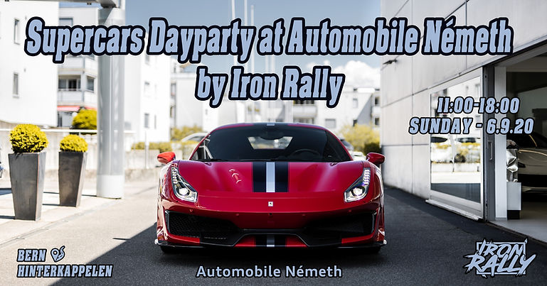 Iron Rally Supercars Dayparty