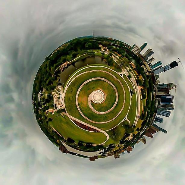 """Texas Cyclone"" #pano #dronestagram #aer"