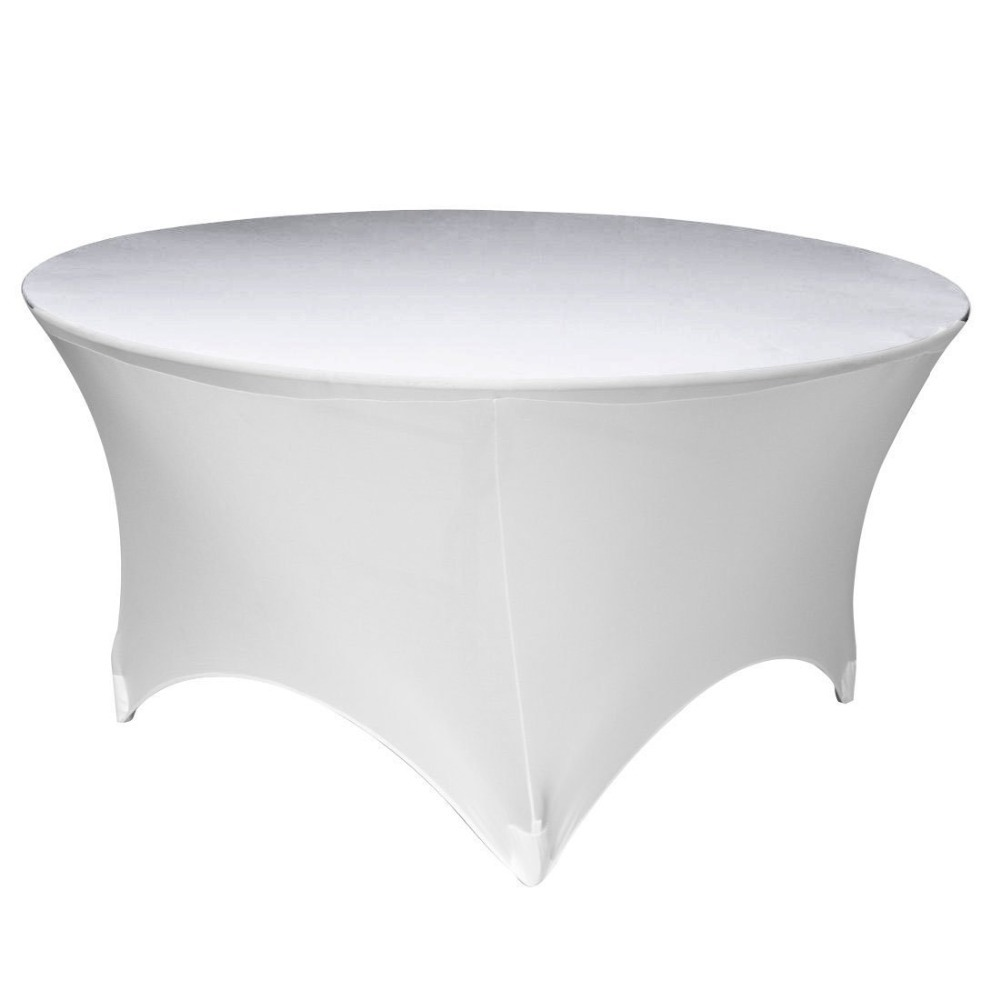 72 inch table with Spandex
