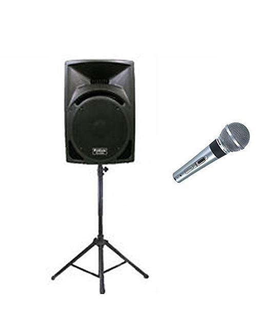 speaker/ microphone
