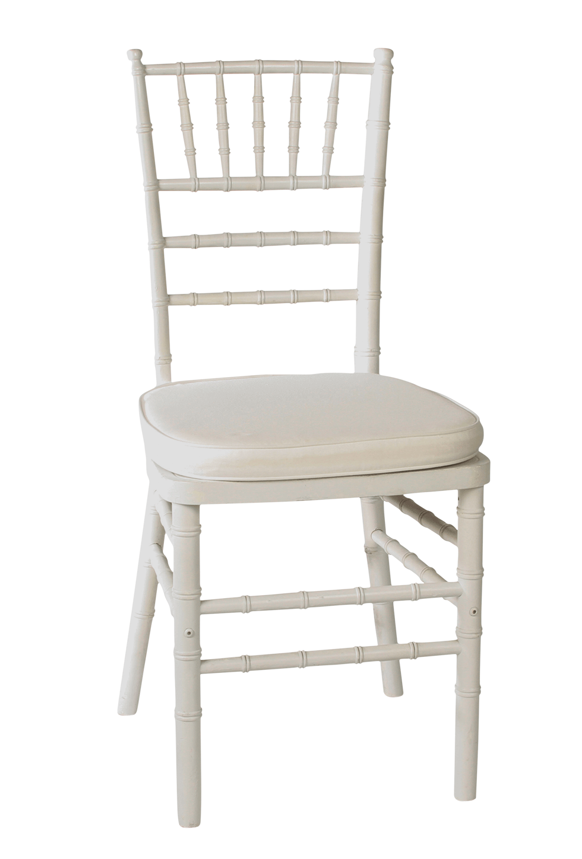 Chiavary Chair white with cushion