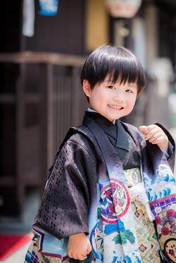 5-year-old Hakama