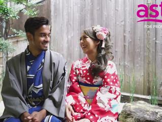 "Malaysia TV program ""Romantica"" shot at Oike Bettei"