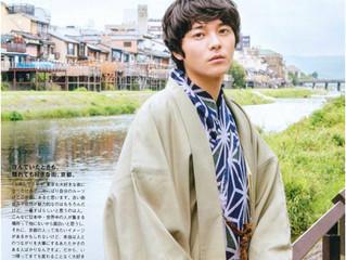 【Magazine Men's non-no】Model Mr. Ryosuke Miyake visited Oike Bettei !!