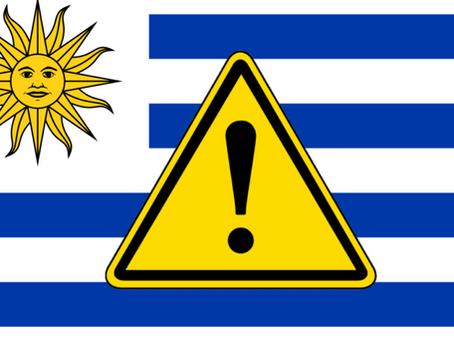 Atividade física no Uruguai? Cuidado!