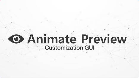 Customization GUI