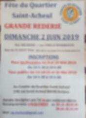 flyer réderie saint acheul amiens