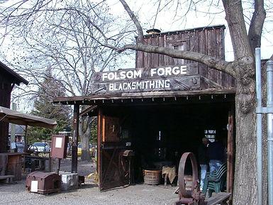 Pioneer Vilage Folsom Forge Blacksmithing & Goldpanning