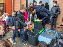 Alle Zeeuws-Vlaamse basisscholen gaan afval beter leren scheiden