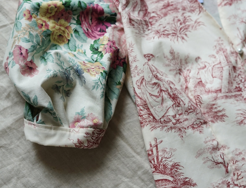 One-of-a-kind blouse