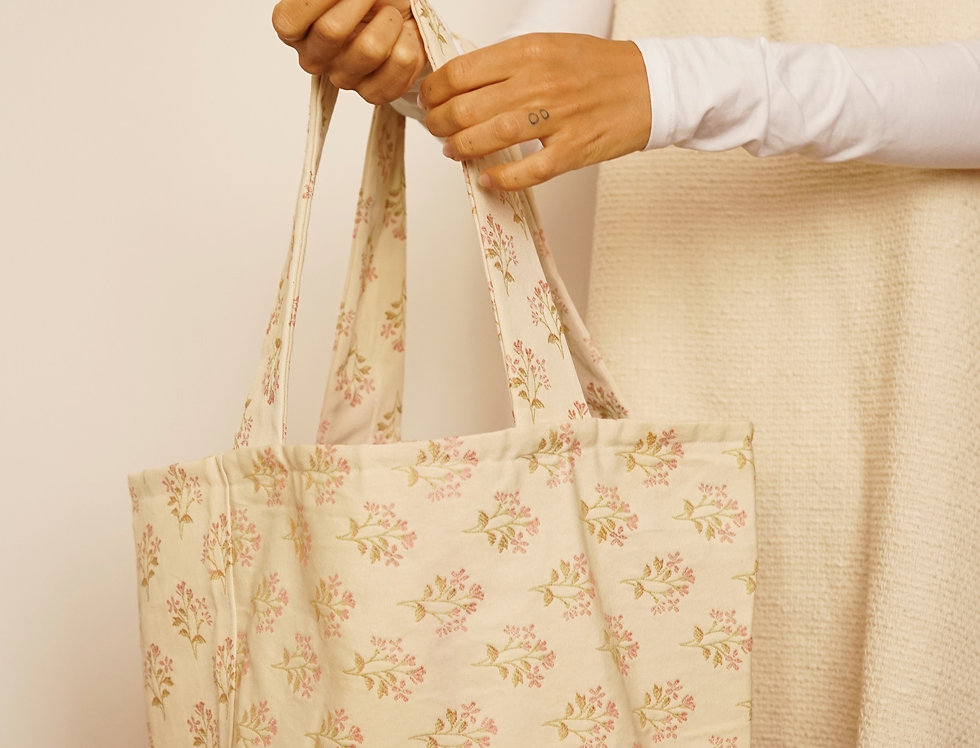 One-off tapestry bag
