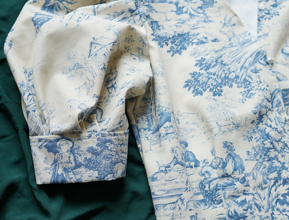 The Pastoral blouse