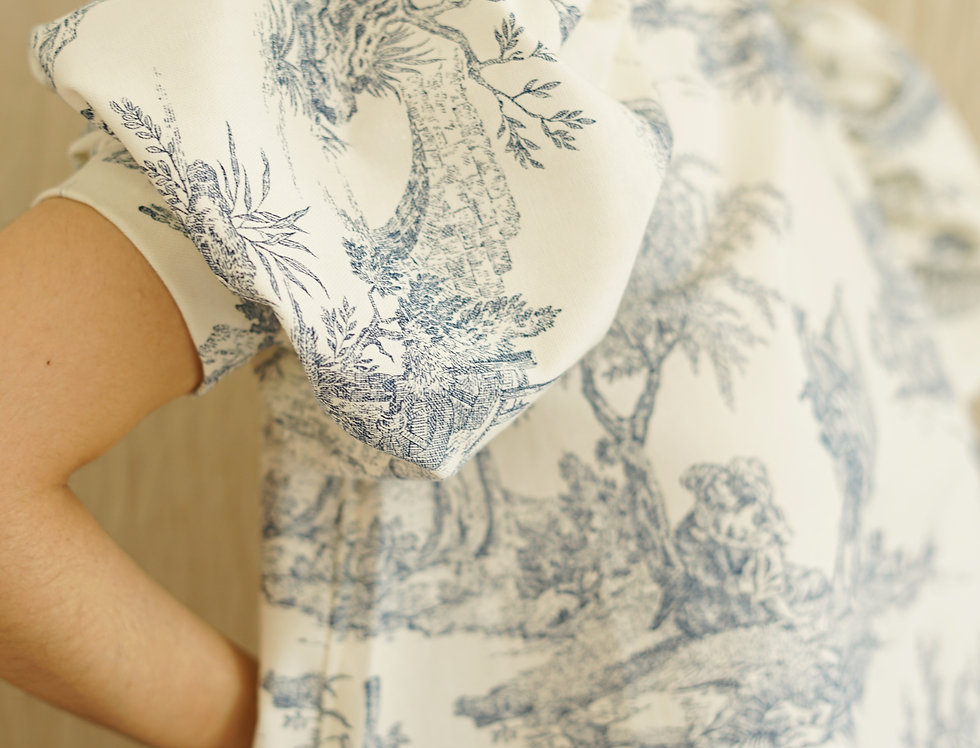 Provence mini dress (blue)