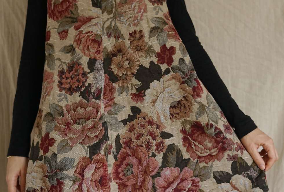 One-of-a-kind Tapestry dress