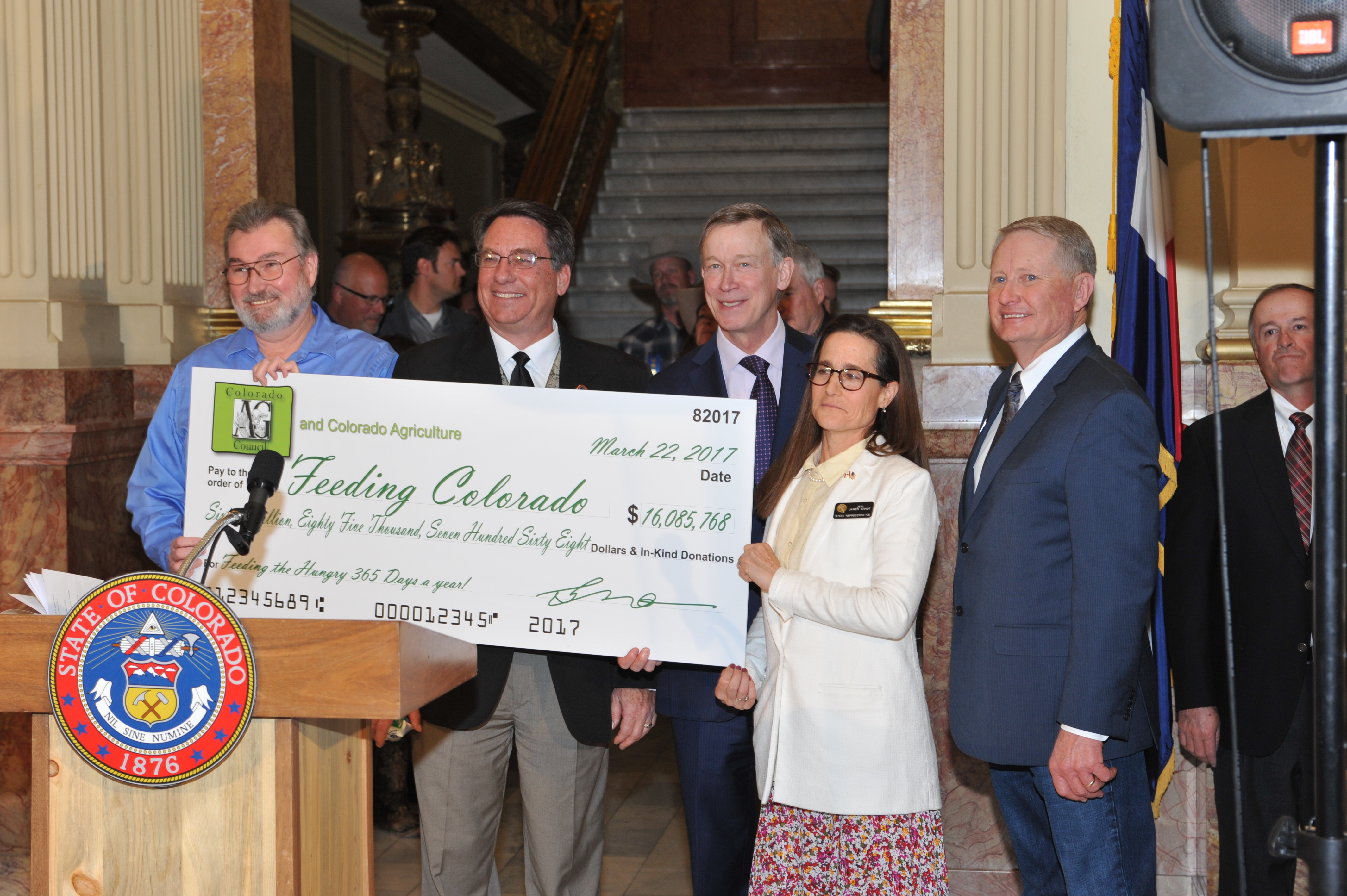 Ag Day Check Presentation