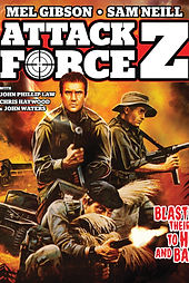 Attack Force Z Mel Gibson Sam Niell Captain Apache Lee Van Cleef Carroll Baker Stuart Whitman Movie Film Classic
