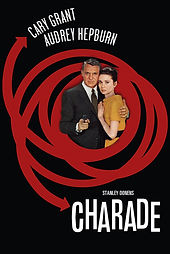 Charade Cary Grant Audrey Hepburn Movie Film Classic