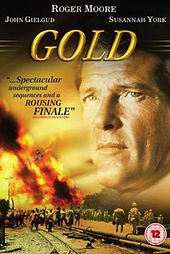 Gold Roger Moore Bond Movie Film Classic
