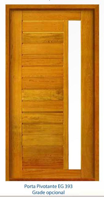 Porta Pivotante 107,117 e 127x213 (Grade opcional)