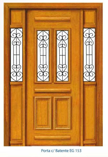 Porta Externa com Grade - Completa - EG153