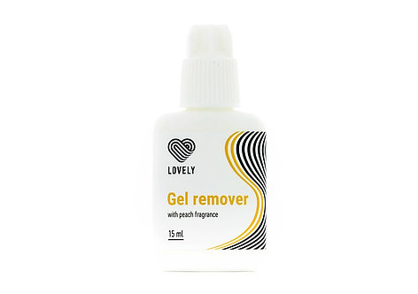 Gel remover Lovely with the aroma of peach, 15 gr