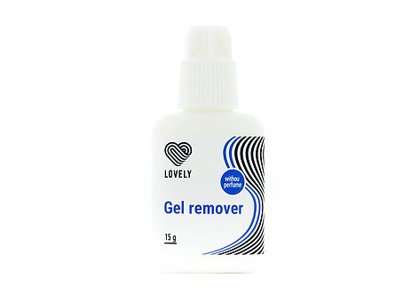Gel remover Lovely without perfume, 15 gr