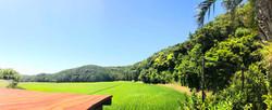 田園風景が広がる