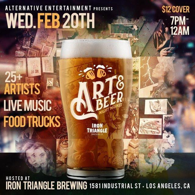 Letta @ Art & Beer LA