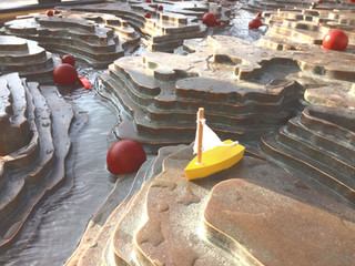 Brunnen Nahaufnahme