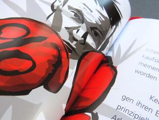 Buchillustration Boxer