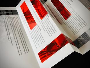 Faltprospekt Imagebroschüre