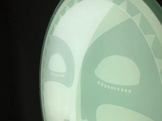 Mondlampe Detail