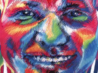 Illu Chalk Face
