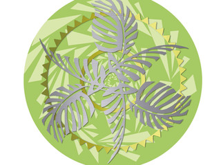 Deckensockel Jungle