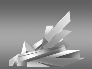 Modell Eisbrecher-Skulptur