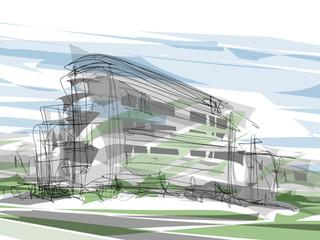 Skizze Wohnkomplex