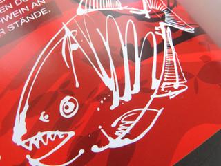 Buchillustration Piranha