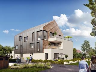 AA+_Architecture - Projet Petit collectif_Pyramide Immo_Haguenau