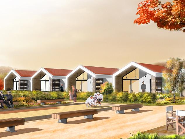 AA+_Architecture - Projet Village Sénior_Batibat_Saint-Louis