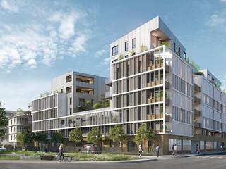 AA+_Architecture - Projet Quartier Fischer_Cogedim_Schiltigheim